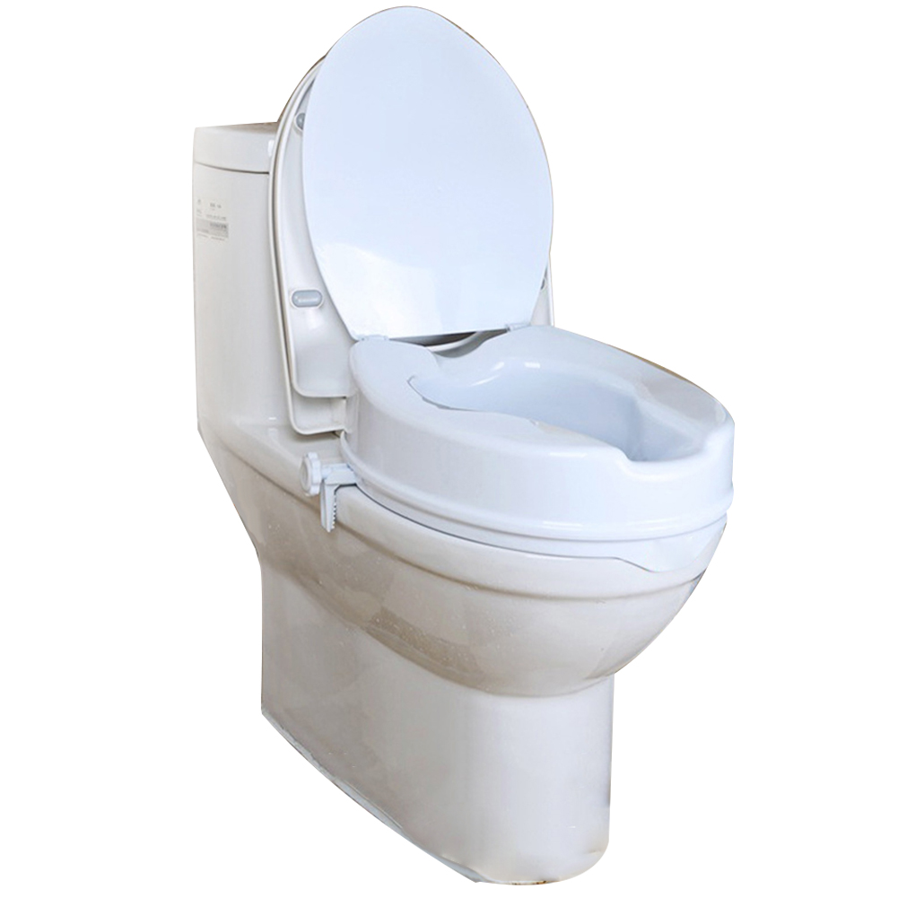 Phenomenal Details About Detachable Raised Toilet Seat Pad With Lid Elderly Disability Aid Seraphic Ibusinesslaw Wood Chair Design Ideas Ibusinesslaworg